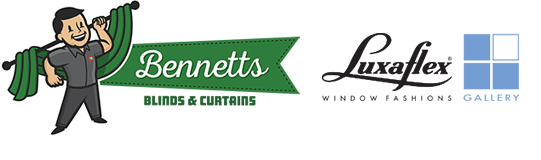 Bennetts Blinds and Curtains logo